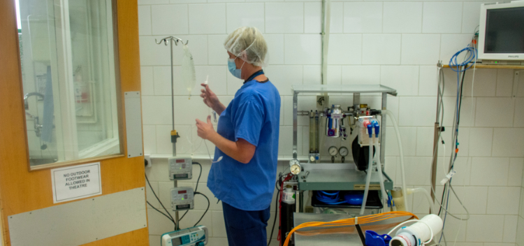 State-of-the-art operating theatres